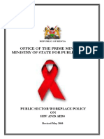 Hiv Workplace Policy