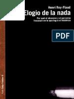Elogio de la nada - Henri Rey-Flaud (Libro).pdf