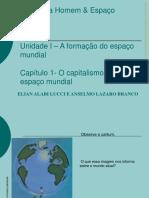 CAPITALISMO E O ESPAÇO MUNDIAL.pps