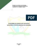 Legislação Estadual da PMRR