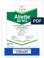 Aliette 80 WG Pimiento