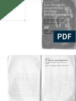 Las Tecnicas Proyectivas y El Proceso Psicodiganostico