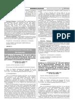 Ratifican la Ordenanza N° 011-20174-MDS/A de la Municipalidad Distrital de Sayán que establece el régimen tributario de los arbitrios municipales de limpieza pública parques y jardines públicos y serenazgo del período 2018