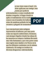 """Georges Minois; """"Historia de Los Infiernos""""."""