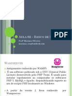 Aula 01 – Banco de Dados II