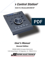 MCS3 USB & RS232 for Windows User Manual