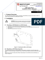 manual installation LDM Lamp Driver Installation Sheet Rev A