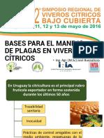 07 - Bases en El Manejo de Plagas - Ing. Agr. Buenahora