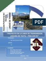 Informe Proyecto de Lineas Pira 220 Kv-correcion