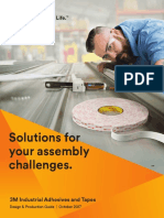 Adhesives and Tapes Design Guide