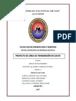 Informe Proyecto Lt220kv Cochas Lagunapatocochas