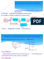 Chapter 2 Mathematical Models of Systems (1)