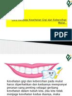 Cara Menjaga Kesehatan Gigi Dan Kebersihan Mulut