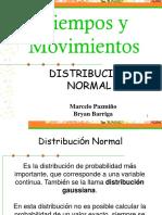 Distrubucion Normal