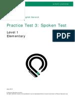 PTEG Spoken PracticeTest3 L1