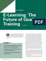 Aprendizaje Electronico - El Futuro Del Entrenamiento