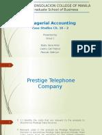 320326533 Prestige Telephone Company Case Study Report Unedited