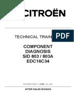 Citroen Component Diagnosis