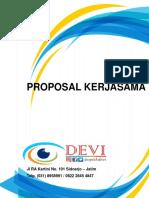 Proposal Kerjasama Optik Devi Untuk Bsm Mojokerto
