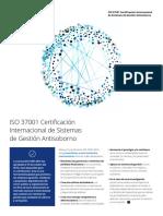 Certificacion ISO 37001
