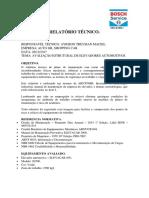 Relatório Técnico Elevador 05