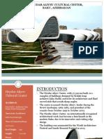 heydar aliyev cultural center baku