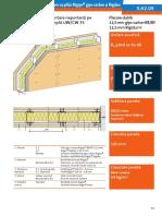 3.62.05 Pereti Compatimentare Structura UWCW75 Placare Dubla Rigidur RB