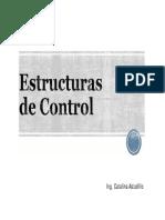 4 Estructuras de Control