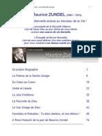 Abbé Maurice ZUNDEL Extrait et Biographie