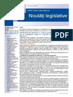APEX Team Noutati Legislative 11 2017