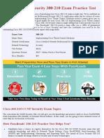 Cisco 300-210  Exam Questions - Free Demo
