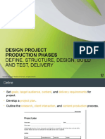 design project production phases preso