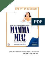 Dossier Mamma Mia