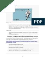 Soft Skills Class 3 - Body Language