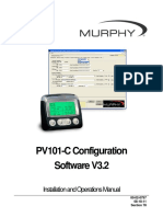 MURPHY PV101-C V3.2 Configuration Software