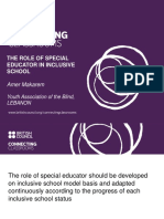 The Role of the Special Educator in the Inclusive Classroom by Amer Makaram 0