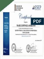 Certificado - Espinoza Soriano
