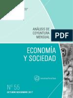 Economia y Sociedad - N 55 - Octubre Noviembre 2017 - Paraguay - Portalguarani