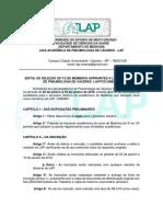 Edital LAP 2017.2