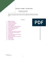 Balmer - Lecture Notes on Homological Algebra