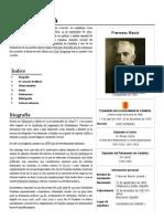 1859-1933 Francesc Macià - Presidente Generalitat Catalunya