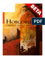 Hobgoblin Fantasy Battle Rulebook