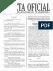 Ley de Inversión Extranjera Gaceta Oficial N 41.310