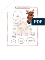 Rudolph Cut Out