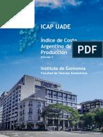 ICAP UADE - Informe 2 - Índice Argentino de La Producción