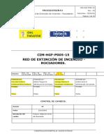 CIM-HGF-P005-15 Red de Extinción de Incendio - Rociadores Rev 03.docx
