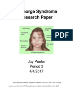digeorge syndrome research paper