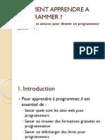 Comment Apprendre a Programmer