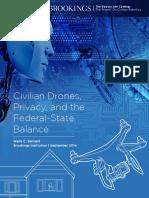 Civilian Drones Privacy Bennett NEW