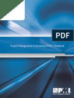project management professional handbook.pdf